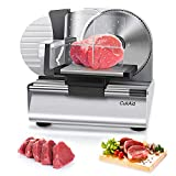 CukAid Electric Meat Slicer Machine, Deli Cheese Bread Food...