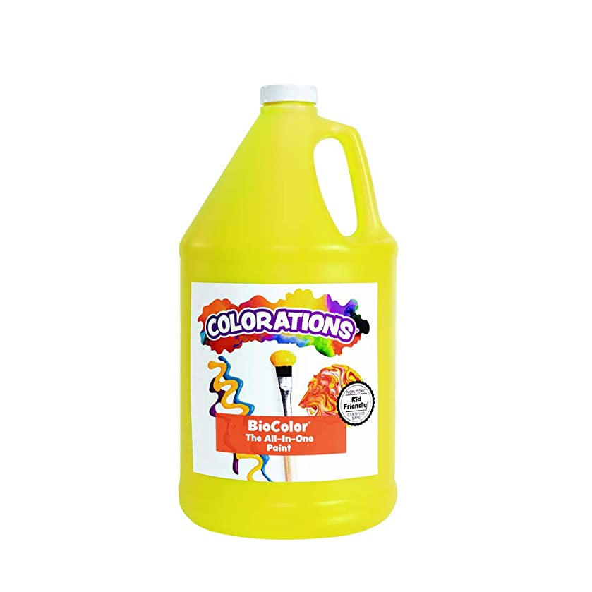 BioColor GBIOYE Paint, Yellow - 1 gal
