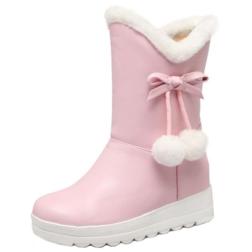サイトライン名義でからかうCOOLCEPT レディース ショートブーツ 雪靴 インヒール ボア ブーツ