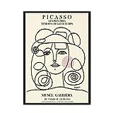 Picasso Matisse pintura de arte de pared cuerpo abstracto chica flor carteles e impresiones imágenes nórdicas pintura de lienzo sin marco H 30x40cm