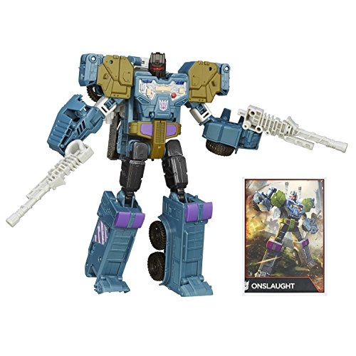 Transformers Generations Combiner Wars Voyager Class Onslaught Figurine