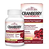 21St Century Cranberry Plus Probiotic 60 Tablets