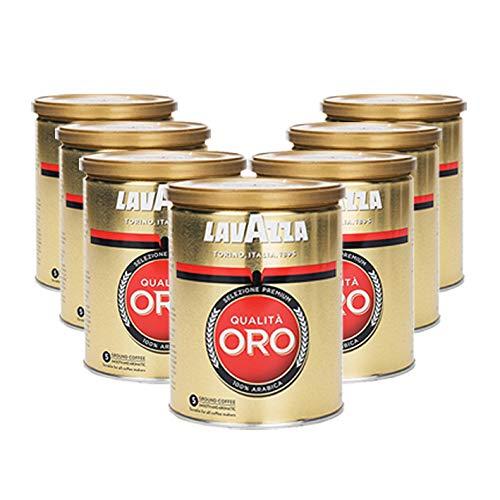 Lavazza Kaffee Qualità ORO, gemahlen in Dose (7 x 250g)