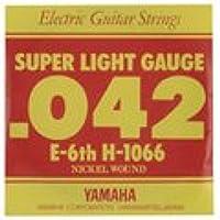 YAMAHA H1066 エレキギター用 バラ弦 6弦×6本