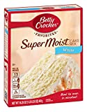 Betty Crocker Super Moist White Cake Mix - 432 gr