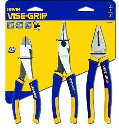 Irwin 10505483 Visegrip Pro Plier Set, 3 Pieces