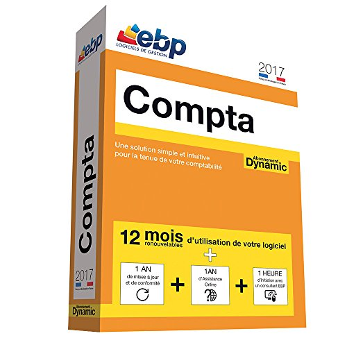 EBP Compta Dynamic 12 mois 2017 + VIP