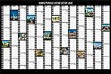 Hundertwasser Jahresplaner Architektur 2020: Wandplaner