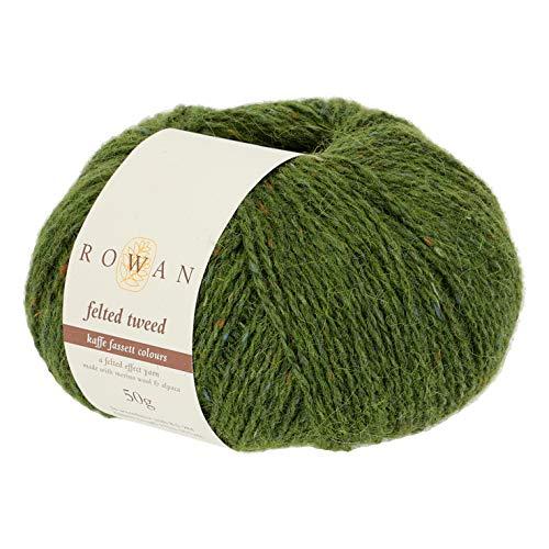 Rowan Z036000-00205 Handstrickgarn, 50% Wolle, Viskose, 25% Alpaka, Lotus Leaf, onesize