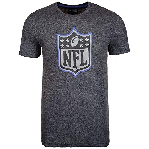 New Era NFL Logo T Shirt Grey Football Unisex Size Outline Men Kids Women - M