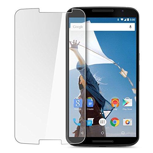 Protector de Pantalla Cristal Templado para Google Motorola Nexus 6 Máxima Dureza 9H Glass Tempered Premium Case. Wo! Accesorios
