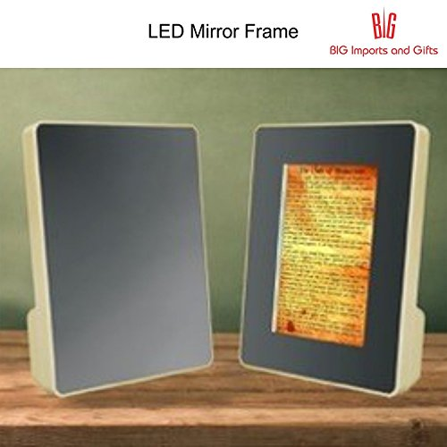 Big Impex Acrylic Magic Mirror+Photo Frame Operated By USB