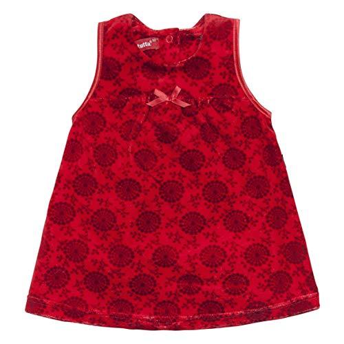 Tutta by REIMA baby meisje feestelijke nikkel jurk rood kerst