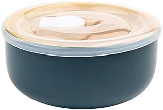 YUMEIGE lunchbox Fresh-Houding Bowl, Office Worker's Bento Box, keramische soepkom en rijstkom, grote huishoudelijke kom, ...