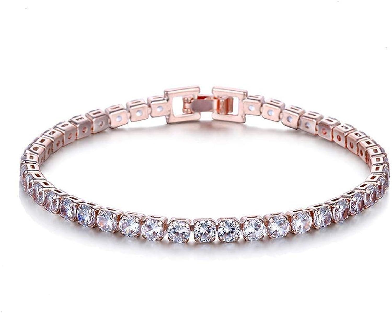 Zicue Stylish Charming Bracelet Exquisite Ornaments Fashion water drop bracelet inlaid zircon jewelry bracelet