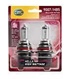 HELLA 9007 100/80WTB Twin Blister High Wattage Bulbs, 12V, 2 Pack