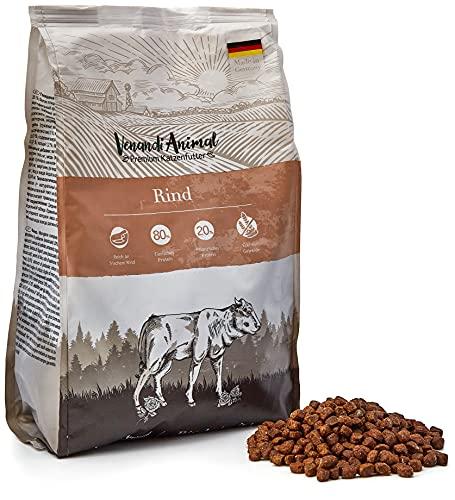 Venandi Animal - pienso seco para Gatos - Ternera como pienso seco - Completamente Libre de Cereales - 1,5 kg