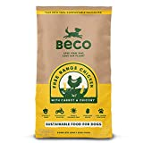 Beco Dog Food - Free Range Chicken with Carrot and Chicory - 2kg - Natural Grain Free Ethical Dog Food with No Artificial Preservatives