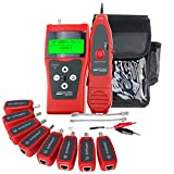 Probador Digital Red Ethernet Comprobador De Cables De Red Patch Cable Tester RJ45 RJ11 5E 6E STP UTP
