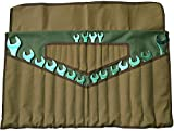 Asian Treasures WR 160004 Wrench Roll 28 Pocket Olive...