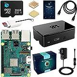 TTLDA Raspberry Pi 3 Modello B+ Kit Barebone Madre Scheda con Micro SD Card 32GB, Nera Caso e Power...