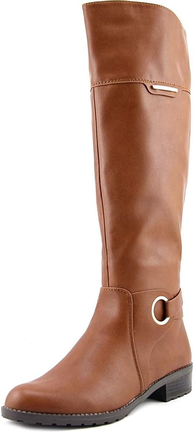 Alfani Womens Jadah Closed Toe Knee High Fashion Boots, Brown, Size 7.0