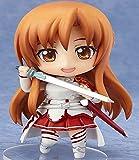 Nuevo Exquisito 10CM Q Edition Clay SAO 017 # Sword Art Online Yuuki Asuna Cu-poche Exchange Face Action Toy Figura de anime japonés colección Decoración escritorio Estatua Modelo Colección Muñeca Reg