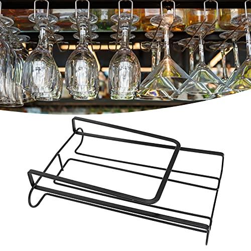 El estante de la copa de vino, previene la oxidación Estante de la copa de vino a prueba de herrumbre para la barra para la sala de estar
