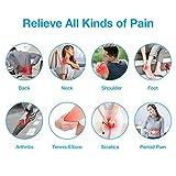 Easy@Home Alivio del dolor Electroestimulador TENS y electroestimulación muscular Rehabilitación EMS Masajes para el alivio del dolor 16 Programas de masaje 20 Niveles de intensidad