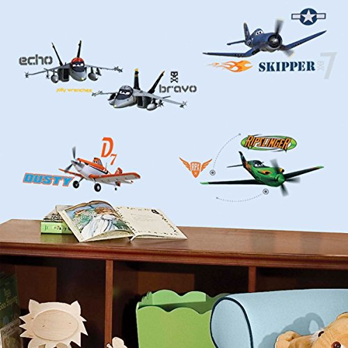 RoomMates 43 Stickers géant Tour du Ciel Planes Disney