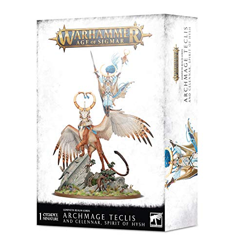 Games Workshop Warhammer AoS - Lumineth Realm-Lords Archmage Teclis