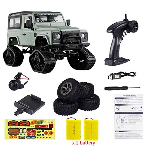 1/16 RC Crawler Landrover Military Truck WiFi HD 720P Camera Car Drive Off Road for Children\'s Gift