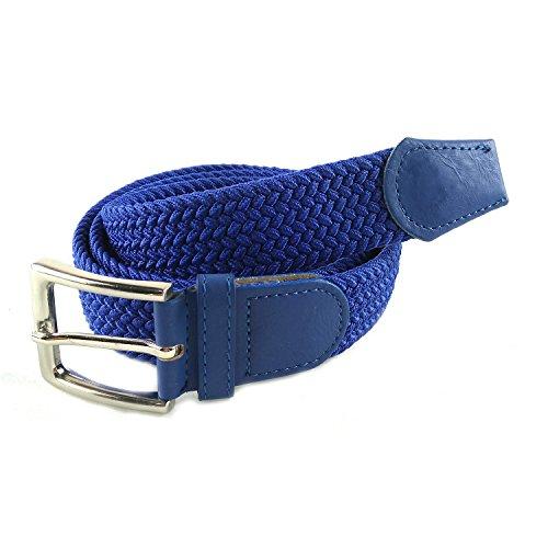 MixYourBeauty MYB Cinturón elástico trenzado para Hombres y Mujeres - múltiples colores...