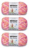 Bernat Baby Blanket Yarn (3-Pack) Peachy 161103-3510