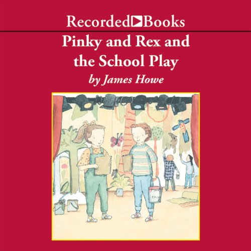 Couverture de Pinky and Rex and the School Play