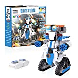 Coodoo Almubot Building Robot Set, Remote App Controlled Coding Walking Robot Kit 358 Pieces, Ages 8+