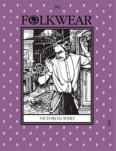 folkwear Mustern Damen & Herren Schnittmuster Viktorianischer Shirt