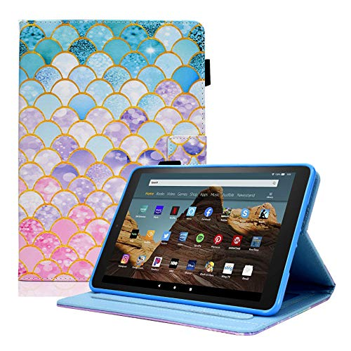 AUSMIX Case for All-New Fire HD 10 Tablet (9th Generation 2019, 7th...