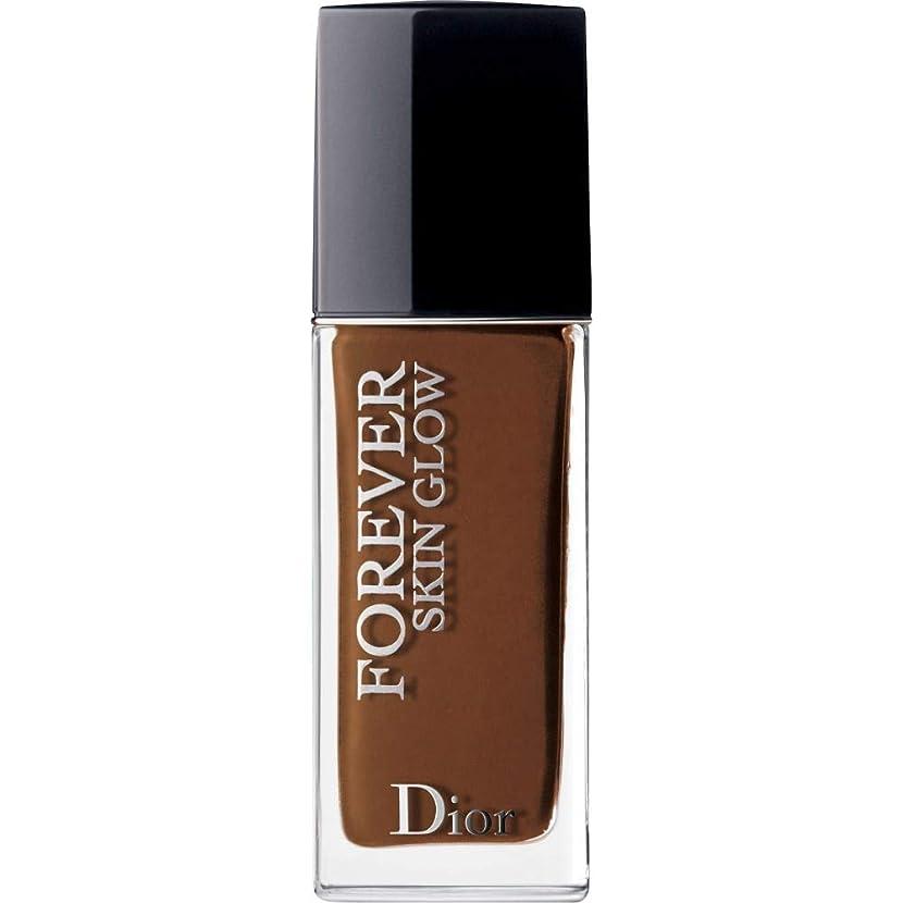 バックアップ辞書お茶[Dior ] ディオール永遠に皮膚グロー皮膚思いやりの基礎Spf35 30ミリリットルの9N - ニュートラル(肌の輝き) - DIOR Forever Skin Glow Skin-Caring Foundation SPF35 30ml 9N - Neutral (Skin Glow) [並行輸入品]