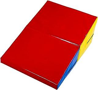 "Small Folding Incline Cheese Wedge Mat, 32""x 23"" x 12.5"", Gymnastics & Tumbling Training Equipment by K-Roo Sports"