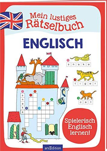 Mein lustiges Rätselbuch Englisch: Spielerisch Englisch lernen!