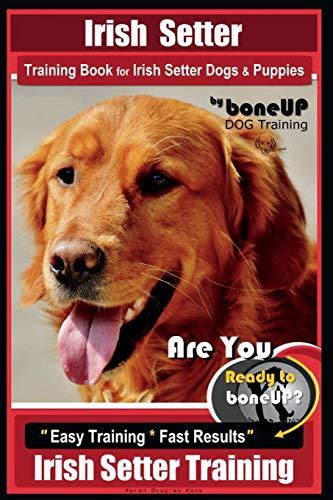 Irish Setter Training Book for Irish Setter Dogs & Puppies By BoneUP DOG Training: Are You Ready to Bone Up? Easy Steps * Fast Results Irish Setter Training -  Kane, Mrs Karen Douglas, Paperback