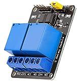 AZDelivery 2 Canales Modulo Rele 5V con Optoacoplador Low-Level-Trigger compatible con Arduino con E-Book incluido!