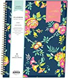 Day Designer for Blue Sky 2020-2021 Academic Year Weekly & Monthly Planner, Flexible Cover, Twin-Wire Binding, 8.5' x 11', Peyton Navy - Limited Edition