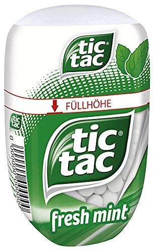 Tic Tac Confetto Gusto Menta - 98 gr [confezione da 8]