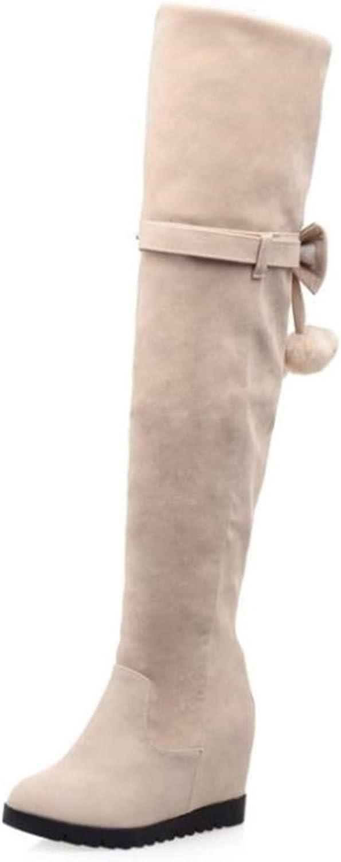 BeautyOriginal Women's Winter Over The Knee Snow Boots