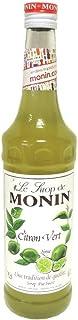 Monin Sirope Lima Citron Vert - 3 botellas x 700 ml - Total: 2100 ml