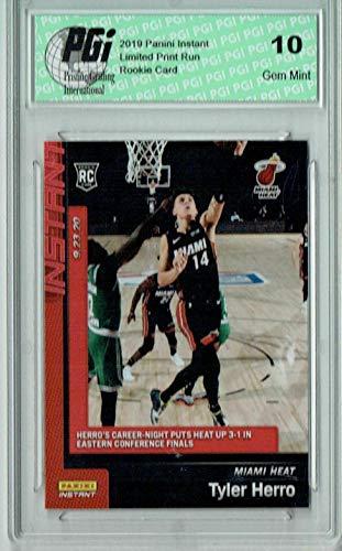 Tyler Herro 2019 Panini Instant #227 1 of 1085 Made Rookie Card PGI 10 - Basketball Slabbed Rookie Cards