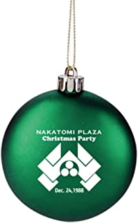 GREEN Nakatomi Plaza Die Hard Movie Prop Holiday Party Christmas Tree Ornament Limited Edition
