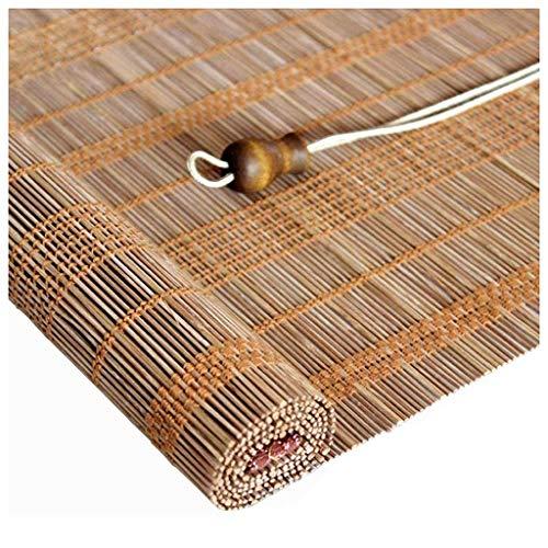 JSONA Persiana Enrollable de bambú, persianas de bambú para el hogar, persianas enrollables de bambú para Exteriores, terraza para Patio, pérgola, Gazebo, balcón